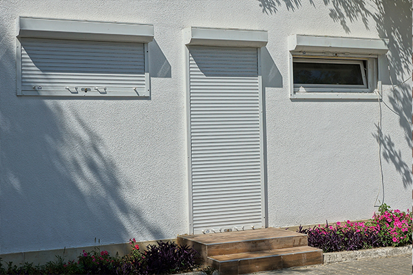 An image showing a roller shutter door