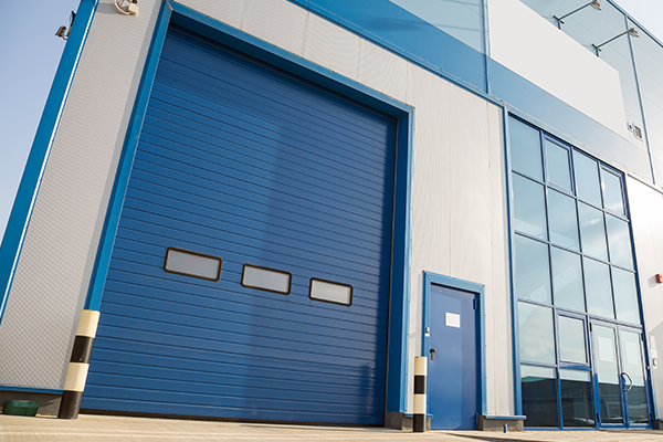 an image of a roller shutter door