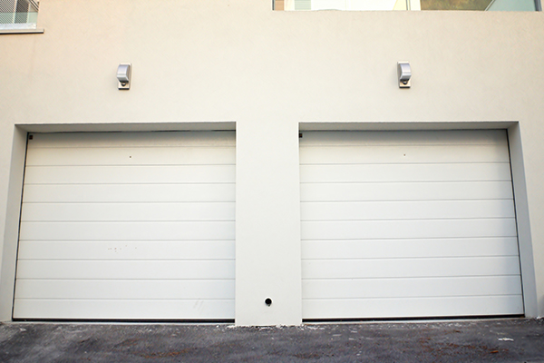 an image of a pull up garage door