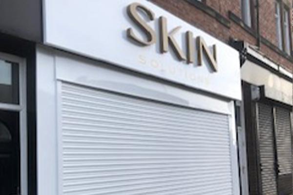 An image of a shopfront we built