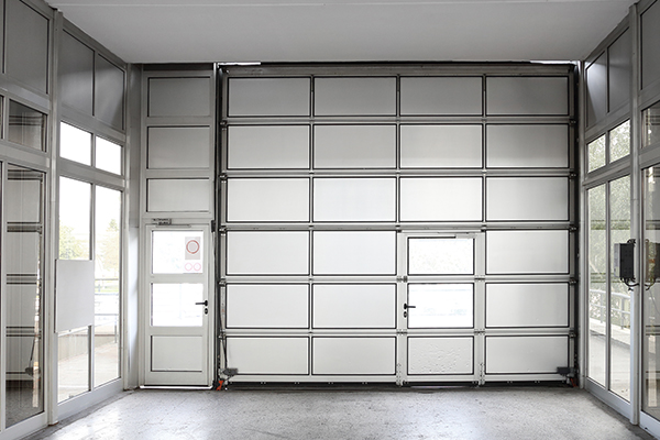 An image showing a sectional door